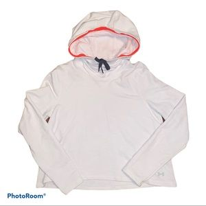 Under Armour Youth Medium white hoodie